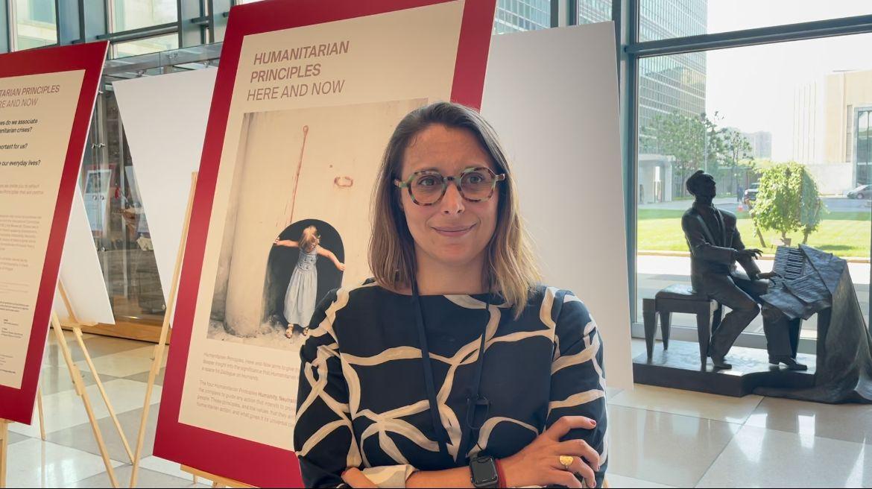 Laetitia Courtois, Observatrice permanente du Comité international de la Croix-Rouge (CICR) auprès des Nations Unies